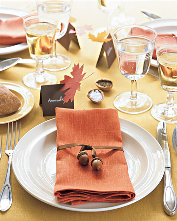 Savvy Housekeeping » Thanksgiving Centerpieces