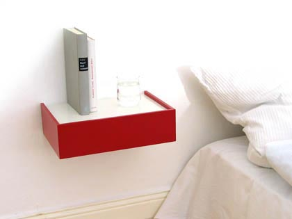 Iu0027m Kind Of Fascinated With Floating Bedside Tables. They Seem A Sleek And  Modern Twist On The Usual Bedside Table, Plus They Take Up Less Space.