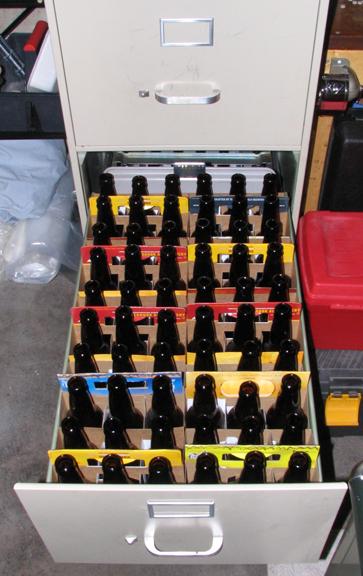 Savvyhousekeeping Bottle Storage Home Brewing