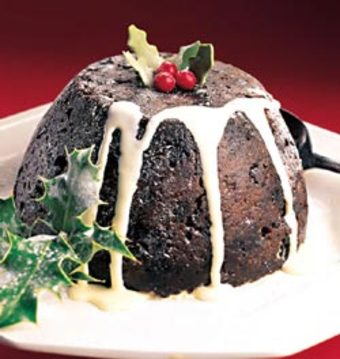 savvyhosuekeeping flaming plum pudding christmas