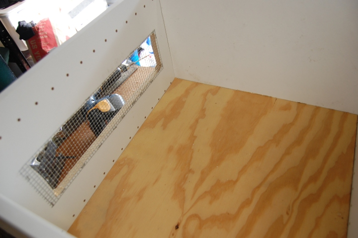 savvyhousekeeping cabinet to chick chicken brooder diy