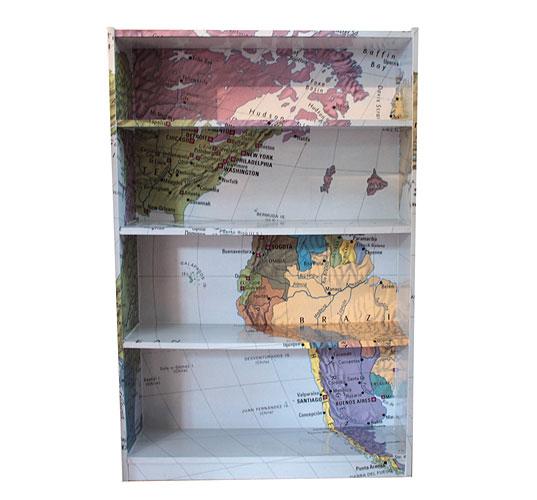 Savvy Housekeeping Wallpaper on Furniture
