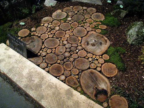 savvyhousekeeping 10 wood slice log projects