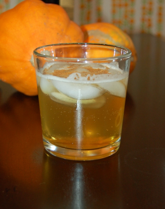 High Ball Drink Savvy housekeeping » harvest highball cocktail
