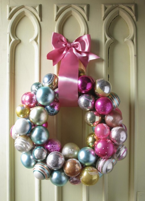Here s how to make a christmas wreath from round tree