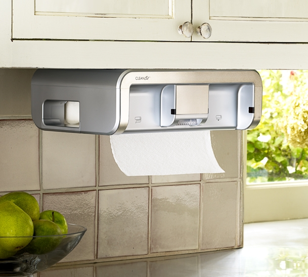 savvy housekeeping » product review: cleancut paper towel dispenser