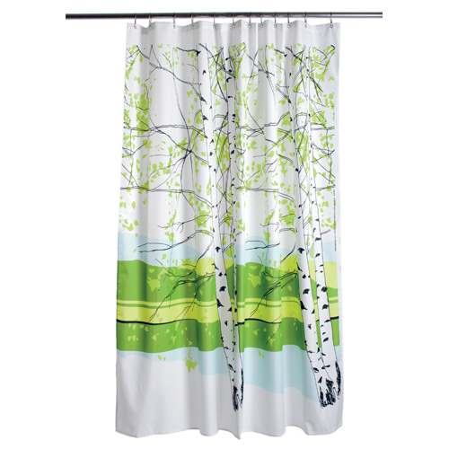 Savvy housekeeping nature inspired shower curtains Nature inspired shower curtains