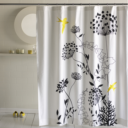 Savvy Housekeeping » Nature-Inspired Shower Curtains