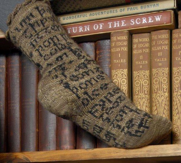 savvyhousekeeping beowulf sock knitting pattern