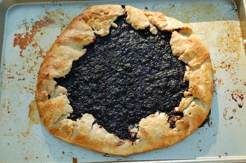 savvyhousekeeping blackberry galette recipe