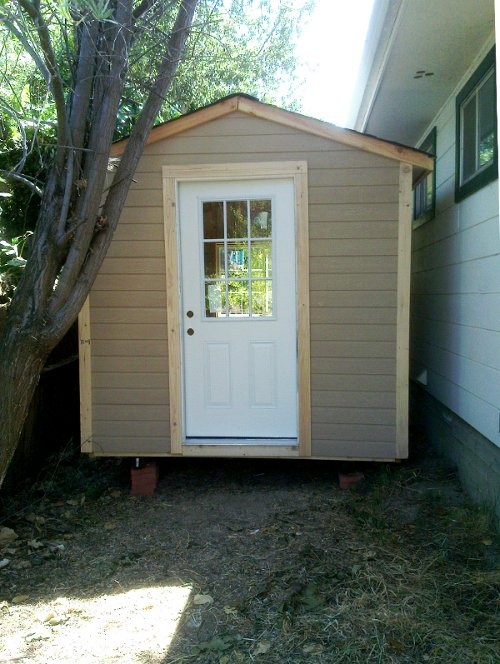 Get building a concrete shed ramp biek plans shed for Shed office combo