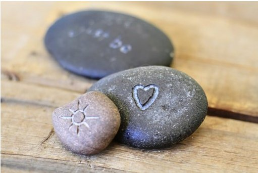 Cool Rocks And Stone : Savvy housekeeping carve rocks with a dremel