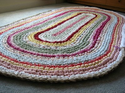 Savvy Housekeeping How To Make A Rag Rug Stunning Crochet Rag Rug Patterns