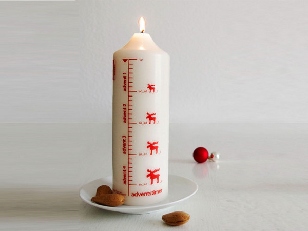 Savvy Housekeeping 187 Advent Candle