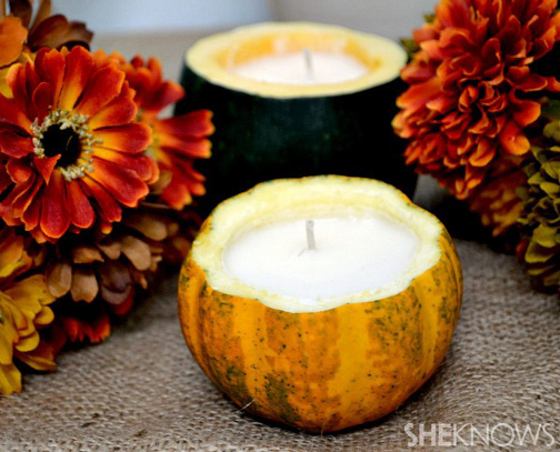 Savvy housekeeping diy pumpkin candles