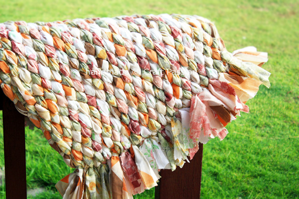 Savvy Housekeeping » How To Make A Rag Rug