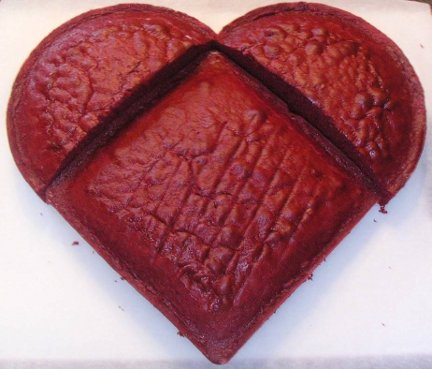 Valentine's Day 2014 Round-Up How To Make A Heart Shaped Cake
