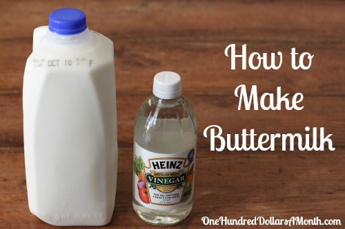can buttermilk be used instead of milk