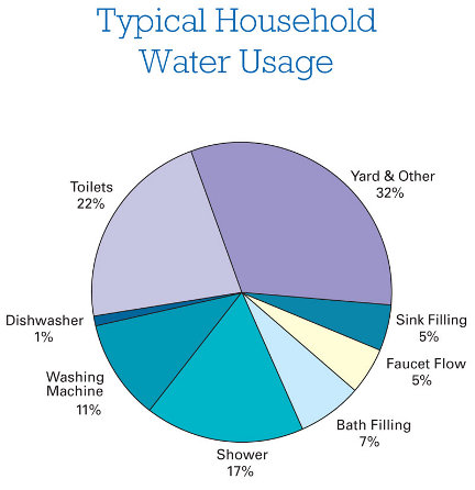 Savvy housekeeping 10 easy ways to save water for Top 10 ways to conserve water