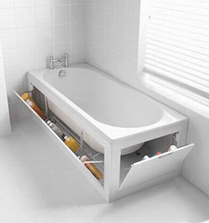 Savvy housekeeping stowaway bathtub - Baignoire double place ...