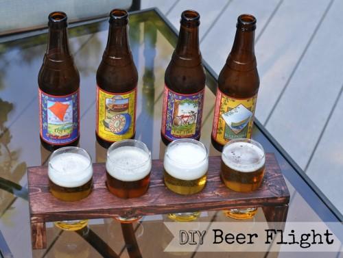 savvyhousekeeping 10 DIY Christmas present beer tasting flight