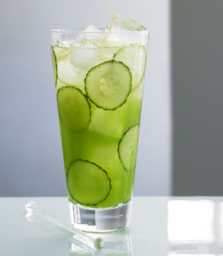 lemon and cucumber for acne
