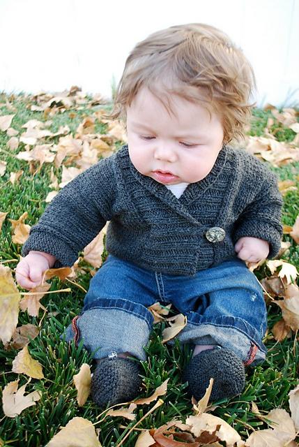 Savvy Housekeeping Free Baby Sweater Pattern