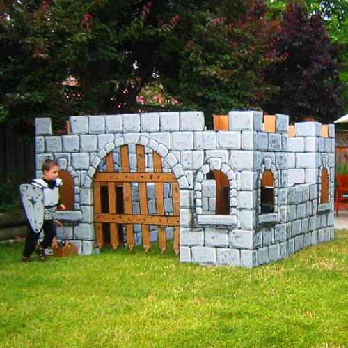 Savvy Housekeeping 187 Backyard Cardboard Castle