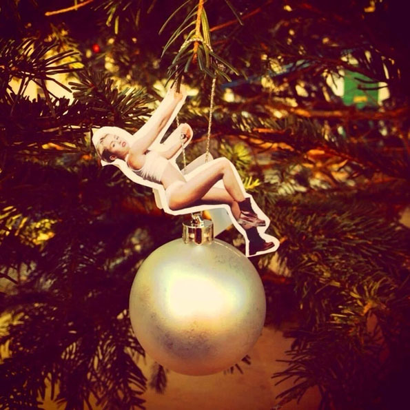 17 Miley Cyrus Wrecking Ball Ornaments That Are Works Of