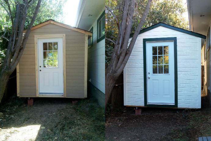 Savvy Housekeeping 187 Turning A Shed Into An Office Part 2