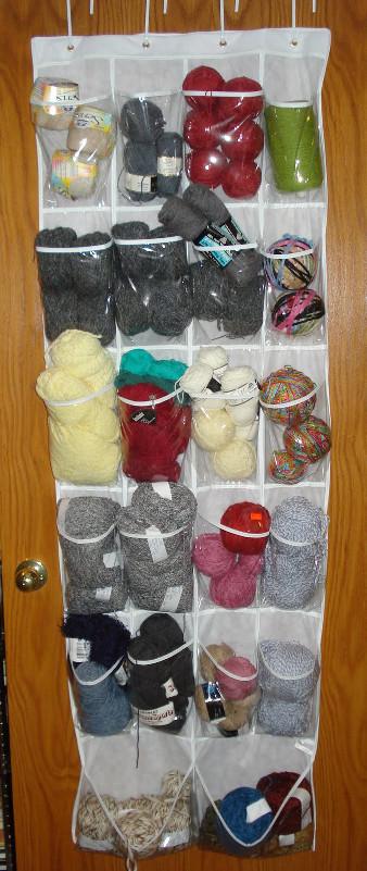 Savvy Housekeeping 187 4 Clever Yarn Storage Ideas