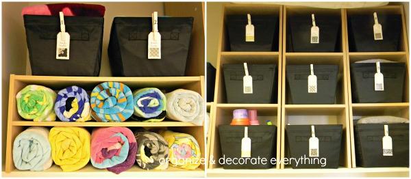 Savvy Housekeeping » 5 Ways To Organize Blankets