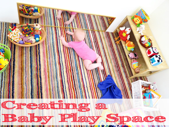 Savvy housekeeping cheerful baby play space for Creating a playroom