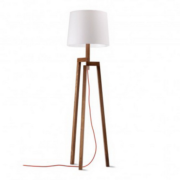 Savvy Housekeeping Make Your Own Floor Lamp