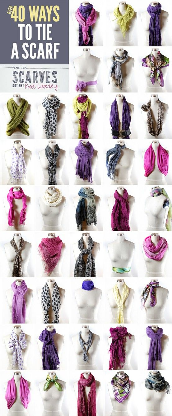 savvy housekeeping 187 40 ways to tie a scarf