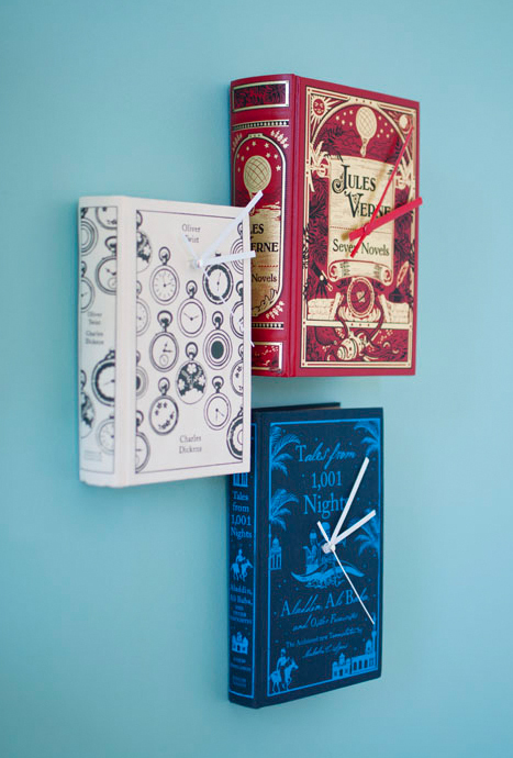 clock-book-ideas-do-it-yourself