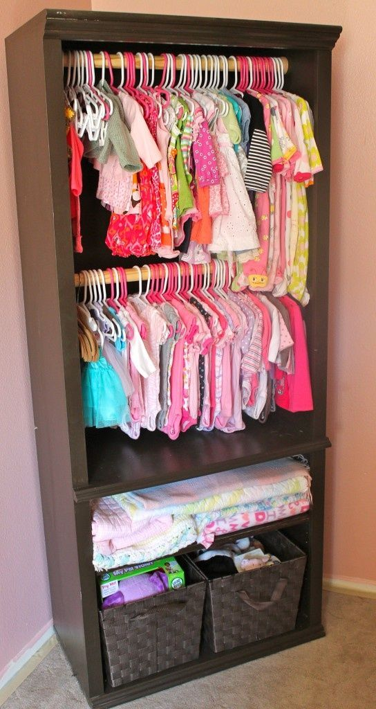Savvy Housekeeping From Bookcase To Baby Clothes Closet